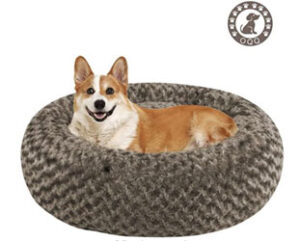OQQ Round Dog Bed For Large Dogs