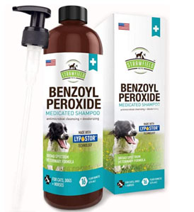 Strawfield Benzoyl Peroxide Shampoo for Dogs