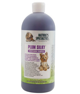 Nature's Specialities Plum Silky Dog Shampoo Conditioner