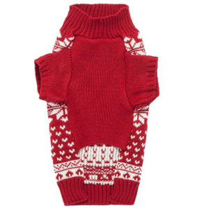 Lanyar Dog Reindeer Holiday Pet Clothes Sweater for Dogs