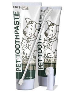 Paws & Pals Dog Toothpaste - Teeth Cleaning Set Best for Dog